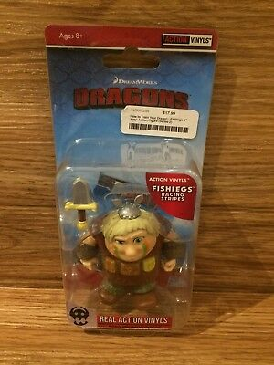 The Loyal Subjects How to Train Your Dragon Fishlegs Racing Stripes 1/12
