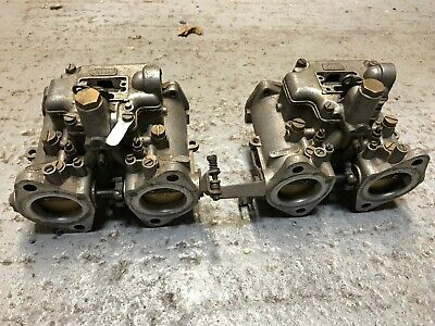 PAIR OF DELLORTO DHLA E 40 Side Draft Carbs, Choke Size 40mm - UK Sale Only!