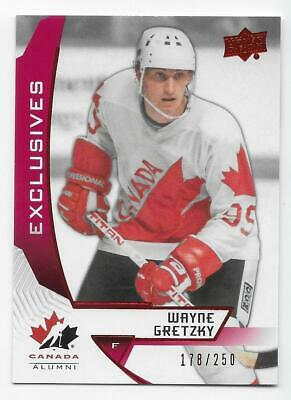 19/20 UD TEAM CANADA JUNIORS EXCLUSIVES /250 /150 (#1-140) U-Pick From List