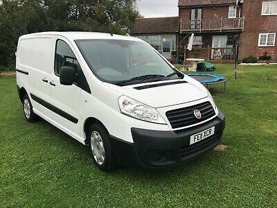 2011  Fiat Scudo 2.0 Hdi Swb Very Clean Throughout