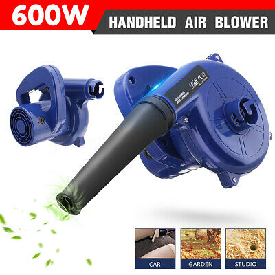 2 in1 Electric Air Blower Computer Dust Leaves Vacuum Cleaner Car Garden Home