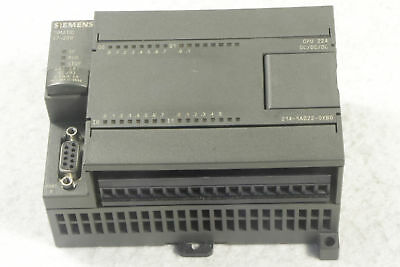 Siemens Simatic CPU unit 6ES7214-1AD22-0XB0 USED tested