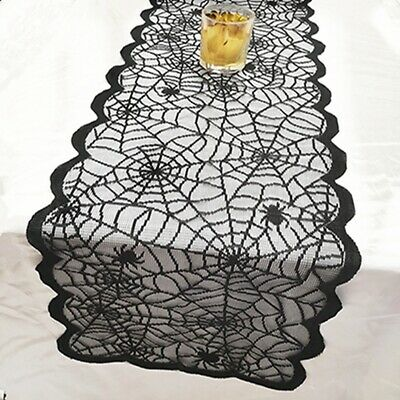 Halloween Decoration Props Tablecloth Curtain Table Cover Fireplace Scarf JA