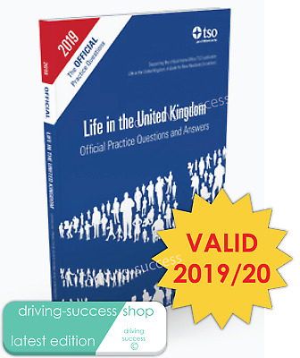 Life in the UK United Kingdom Official Practice Questions and Answers 2019/20