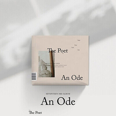 SEVENTEEN AN ODE 3rd Album Ver.2 CD+2ea Photo Book+4p Card+Pre-Order Item SEALED