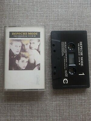 Depeche Mode The Singles 81-85 Cassette Preowned