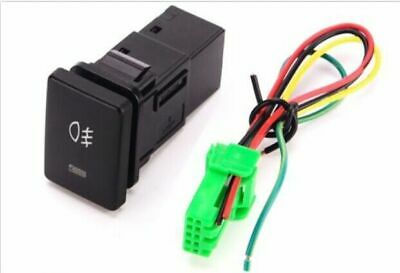 12V 4 Wire Car Fog Light Turn On-Off Push Button Switch Unit Fit For Toyota