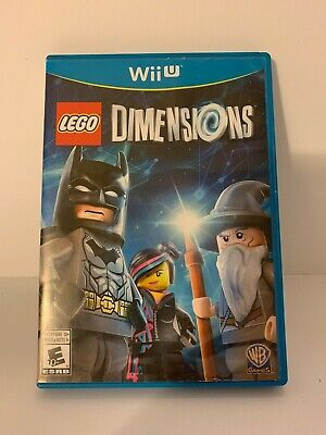 Wii U LEGO Dimensions Starter Game only Complete with Case, Manual and Game