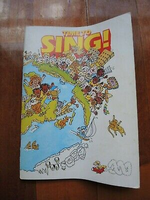 Time to Sing Song Book from 1982 ABC FREE POST