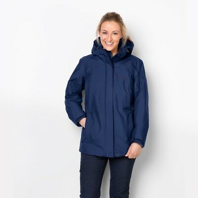 Jack Wolfskin Madison Avenue Mantel midnight blue (Damen) (1107732 1910)