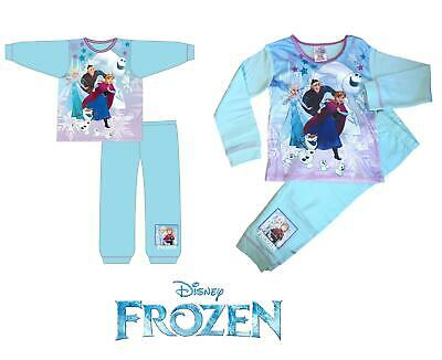 Pajamas Set Girls Disney Frozen Elsa Anna Pyjamas