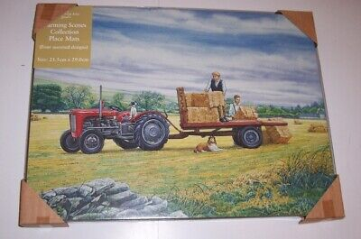 Border Fine Arts Country Kitchen Tractor set of 4 Placemats various designs