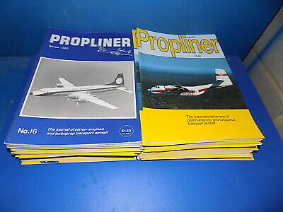 Propliner Magazine - Select From Back Issues