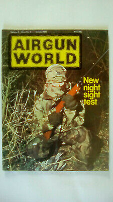 Airgun World Magazine Volume 2 Number 3 October  1978