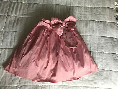 Girls Next  Pink Bow Detail Party Skirt Size 9