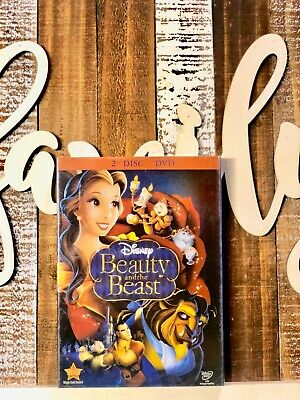 Beauty and the Beast (DVD, 2010, 2-Disc Set) New and Sealed Disney Classic