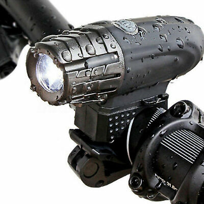 USB Rechargeable LED Bicycle Bright Bike Front Headlight Lamp waterproof ky