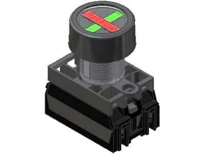 NEF22-WPCZ Position indicator 22mm flat IP66 Colour red/green PROMET