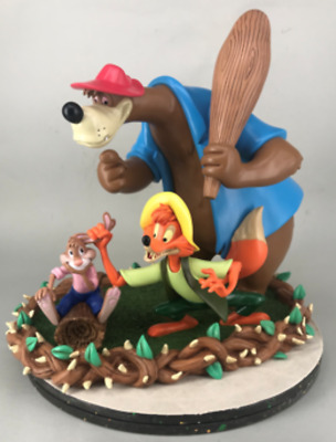 2019 D23 Expo Splash Mountain 30th Anniversary Brer Rabbit Fox Bear Figurine