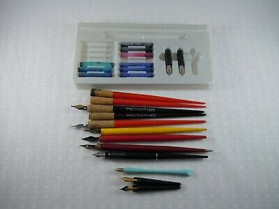 Lot of Vintage Calligraphy / Ink Dip Pens, American Pencil Co., Hanover