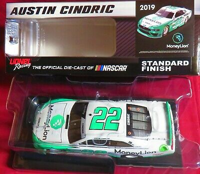 Brand New, 1/24 Action, 2019 Xfinity Mustang, #22, Money Lion, Austin Cindric