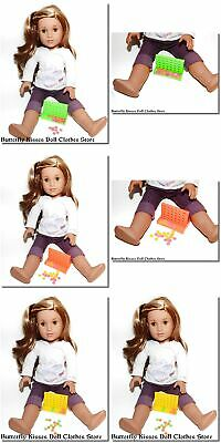 """Mini Connect Four Games 18"""" Doll Clothes Accessory For American Girl Dolls"""