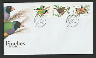 Australia 2018 : Finches of Australia - First Day Cover, Mint Condition