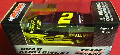 Brand New, 1/64 Action 2019 Mustang, #2, Alliance Truck Parts, Brad Keselowski