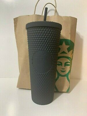 Starbucks 2019 Fall Matte Black Studded Tumbler Cup Limited Edition New In Hand