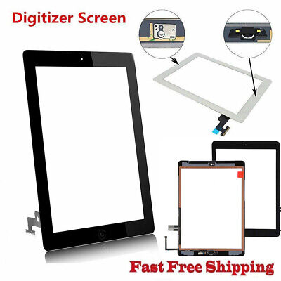 OEM For Apple iPad 2 3 4 Air 1 Mini 1 2 Digitizer Glass Touch Screen Replacement