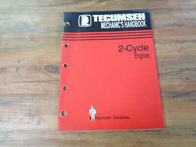 Tecumseh Engines Mechanic's Handbook 2-Cycle Engines (saK)
