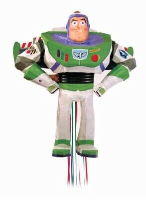 Toy Story 4 Buzz Lightyear 3D Pull String Pinata Birthday Party