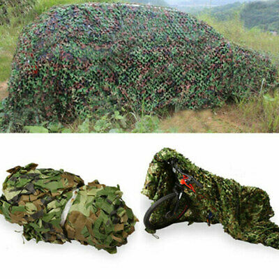 Feuilles sylvicoles Camouflage Camo Armée Filet Camping Chasse Militaire 2*3m