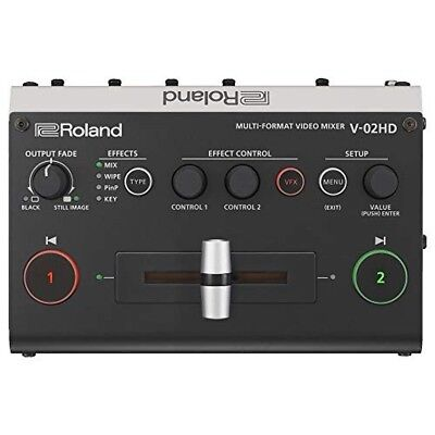 ROLAND V-02HD Scaler Built-in 2CH Video Switcher from japan