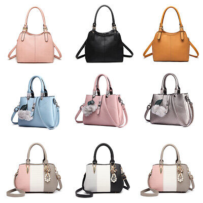 Ladies Designer Tote Multi-compartment Cross Shoulder Work Bag Women Handbag