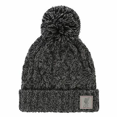 Liverpool FC Junior Cable Marl Hat LFC Official