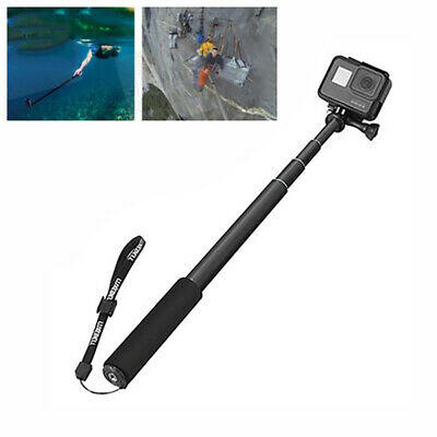 Extendable Selfie Stick Monopod for GoPro Hero 7 6 5 4 3+ 3 Action Cam xcv