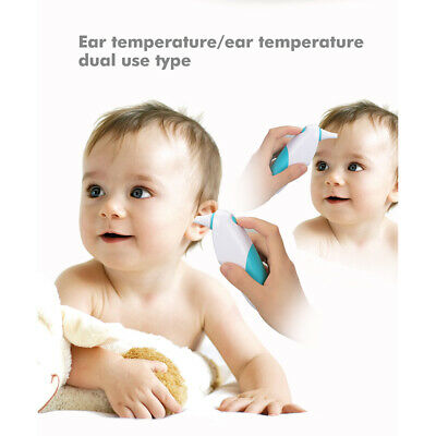 Digital Ear and Forehead Thermometer for Baby, Infant and Adult without Battery