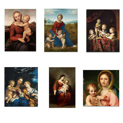 Mother and baby Canvas Poster Picture Bedroom Living Room Wall Home Art Decor
