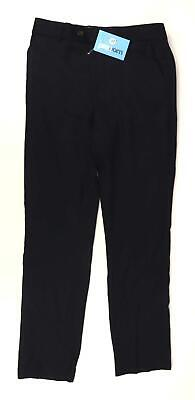 Next Girls Blue Occasion Belt Loops Formal Pockets Trousers Age 14