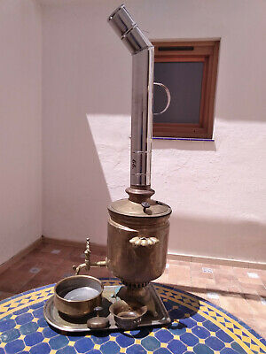 Antique Imperial Russian Samovar 1895 made in Tula city
