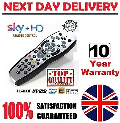 New GENUINE SKY+ PLUS HD REV 9 TV REPLACEMENT Remote 100% FREE Delivery