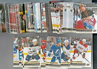 2018-19 Upper Deck 1 & 2 Ud Canvas Plus Young Guns Canvas U-Pick Finish Your Set