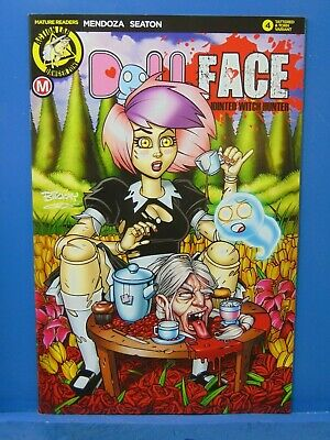 Dollface #12 Tattered /& Torn Variant  Action Lab Comics CB10650