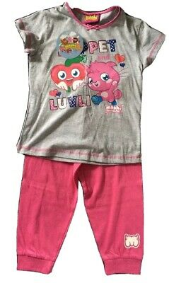 Girls Pyjamas Moshi Monster Aged 7-8 Years BNWT