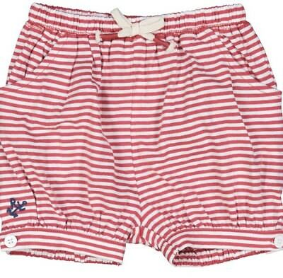 Ralph Lauren Girls Red Striped Nautical Pull On Shorts Aged 2 Years BNWT