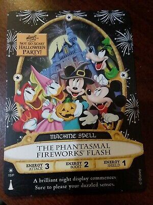 Disney Parks WDW Mickey'sHalloween Party MNSSHP 2019 Sorcerer Magic Kingdom Card