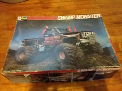 REVELL RARE 1:16 Swamp Monster Monster Truck Large Hard to