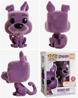 Funko Pop Flocked Scooby-Doo 149 Boxlunch Exclusive Purple Vinyl New Pre-Order