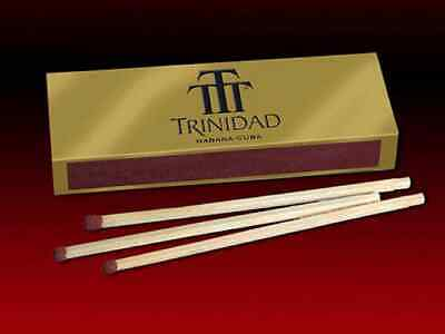 3 Box's Of Fancy Trinidad Wooden Cigar Matches Made In Spain